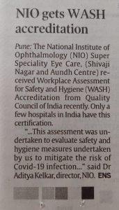 Nio gets WASH accreditation